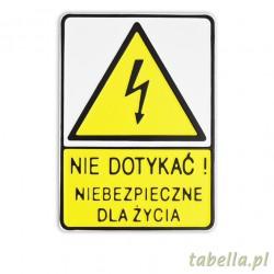 Nie dotykać, niebezpieczne...