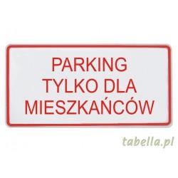 Parking tylko dla...