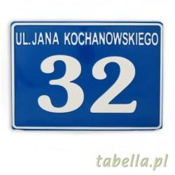 Tablica adresowa (29 x 23 cm)